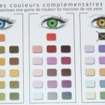 Couleurs des yeux et maquillage